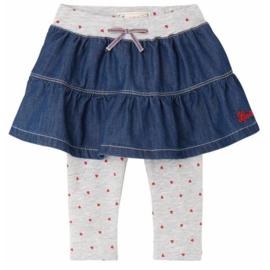 Levi's Skirt July met hartjes leggings