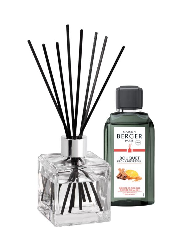 Parfumverspreider Orange de Cannelle + Navulling ACTIEPACK
