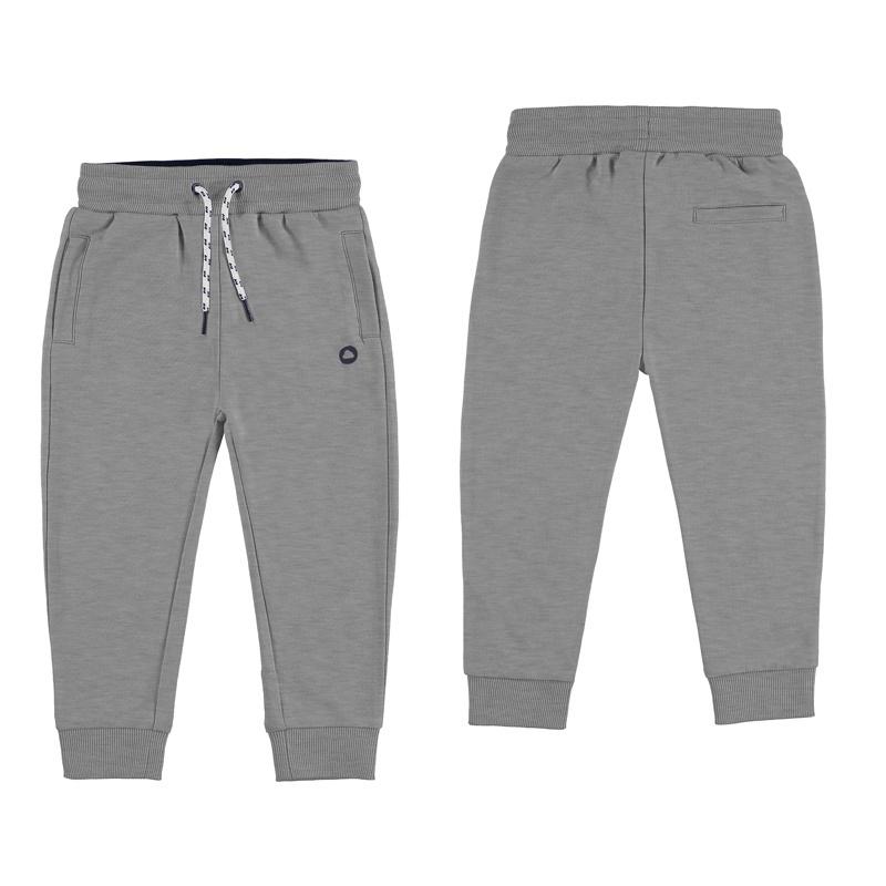 Mayoral Basic cuffed fleece trousers