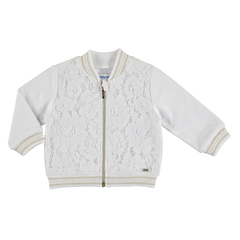 Mayoral Knit lace pullover