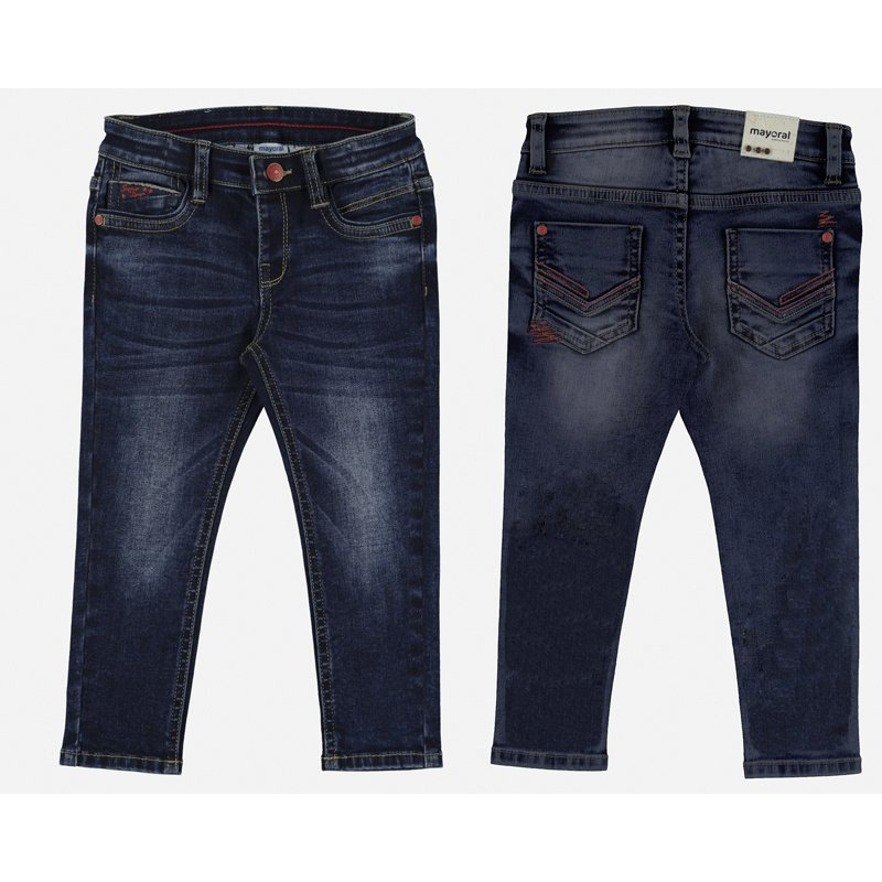 Mayoral Super Slim denim broek Dockside