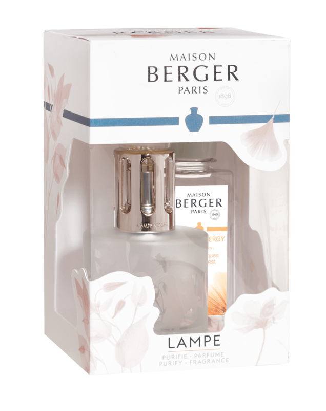Lampe Berger Coffret Lia Givre Fleurie giftset incl. 180ml Aroma Energy