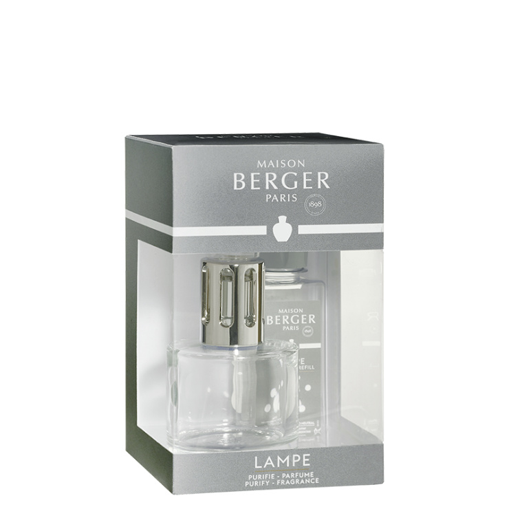 Lampe Berger Pure Transparante giftset incl. 180ml Neutre