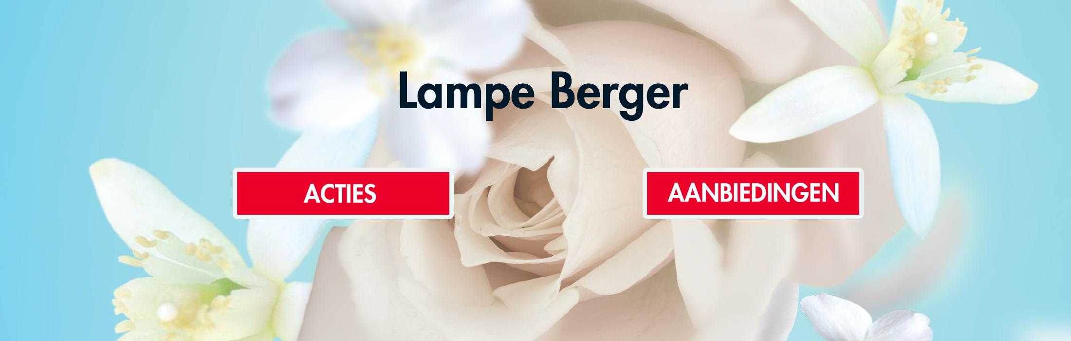 Lampe Berger aanbieding