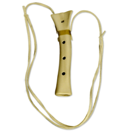 Songbird Eagle Bone Flute - 4 Holes - Ceramic - Pentatonic Scale