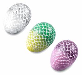 STL Dragon Egg Bass Ocarina - 4 Holes - Ceramic - C Major (Bass)