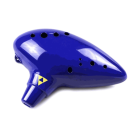 STL Bass Zelda Ocarina - 11 Holes - Plastic - C Major (Bass)