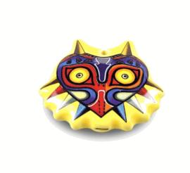 STL Majora's Mask Necklace Ocarina - 4 holes - Ceramic (Soprano)