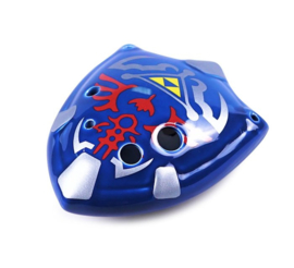 STL Zelda Shield Ocarina - 6 Holes - Ceramic - C Major (Tenor) - Available in 2 Colors
