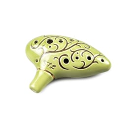 STL Hobbit Ocarina - 12 Holes - Ceramic - C Major (Tenor)