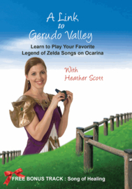A Link to Gerudo Valley Instructional DVD - Learn Zelda Songs on Ocarina!