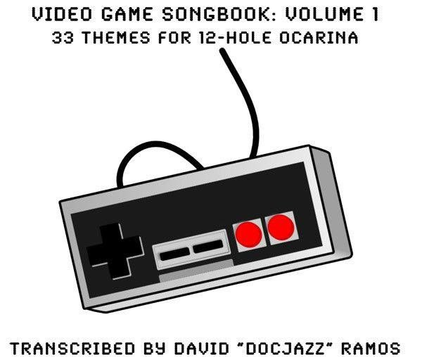 Video Game Songbook for 6-hole and 12-hole Ocarinas