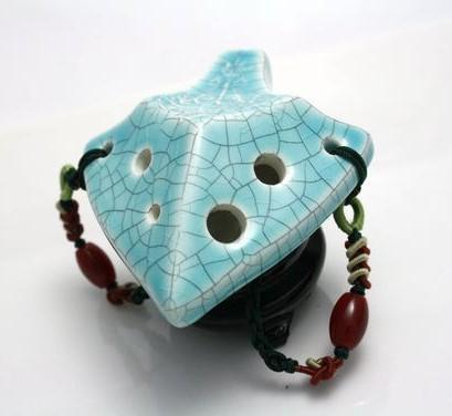 Songbird Spearhead Ocarina - 6 Holes - Ceramic - C Major (Soprano)