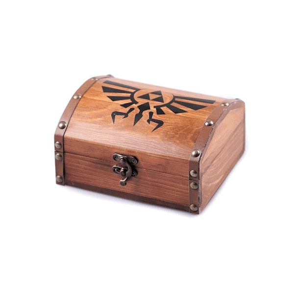 Wooden Treasure Chest - Legend of Zelda
