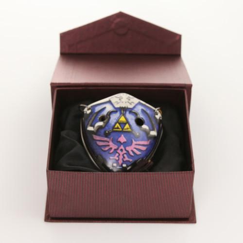 Songbird Hylian Shield Ocarina - 6 Holes - Ceramic - G Major (Alto) + Songbook