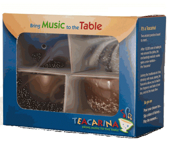 STL TeaCarina - Teacup and Ocarina in One! - 4-Pack
