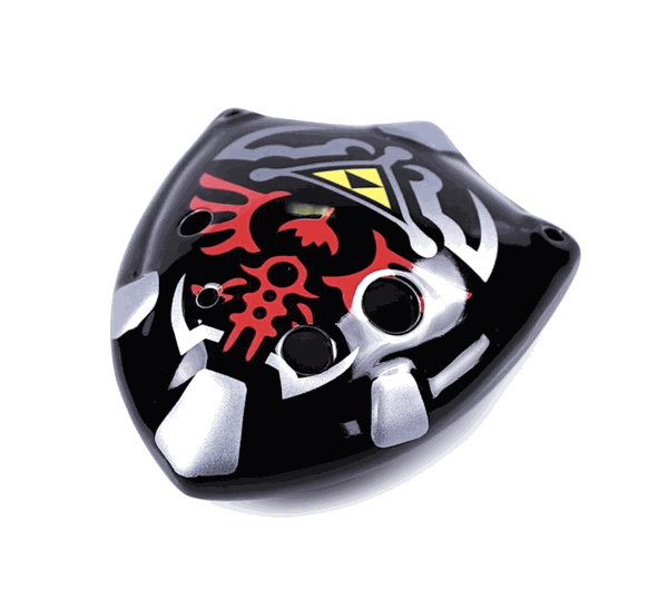 STL Zelda Shield Ocarina - 6 Holes - Ceramic - C Major (Tenor) - Available in 2 Colors