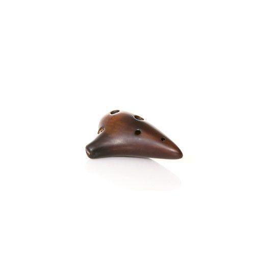 Songbird Strawfire Necklace Ocarina - 6 Holes - Ceramic - F Major (Soprano)