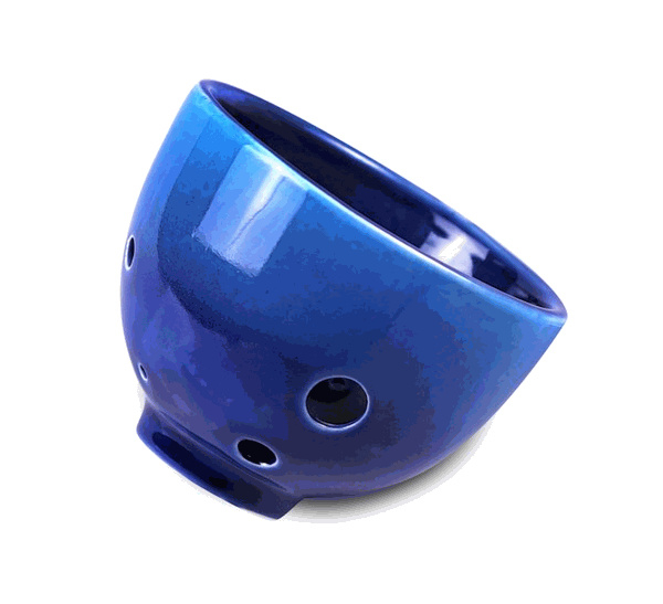 STL TeaCarina - Teacup and Ocarina in One! - Blue