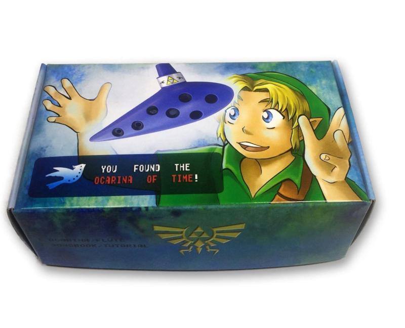 Songbird Zelda Ocarina of Time - 7 Holes - Plastic - C Major (Tenor)