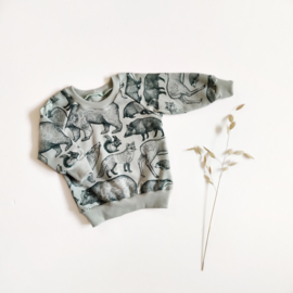 Sweater 'forest animals'