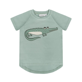 Dear Sophie -Crocodile Mint T-shirt
