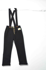 Omho - Black strappy pants