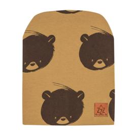 Zezuzulla - Beanie Bear on Mustard