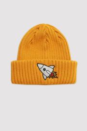 Minikid - Hat Ribbed Yellow Rocket