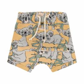 Dear Sophie - Koala Yellow Shorts