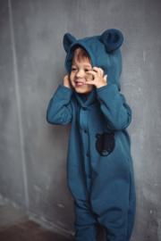 Zezuzulla - Eared Jumpsuit One Bear on Blue