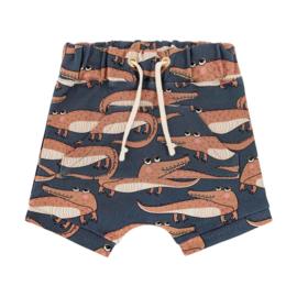 Dear Sophie - Crocodile Navy Shorts