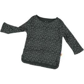 Hi Little - Cracked Black T-Shirt