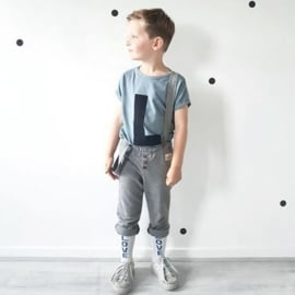 Omho - Grey strappy pants