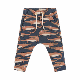 Dear Sophie - Crocodile Navy Pants