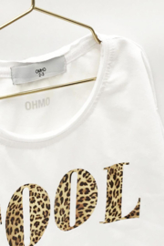 """Omho - White sweater """"COOL"""""""