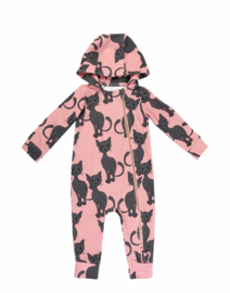Dear Sophie - Pink Cat Overall