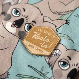 Dear Sophie - Koala Sea-green Hoodie