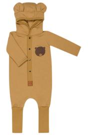 Zezuzulla - Eared Jumpsuit One Bear on Mustard