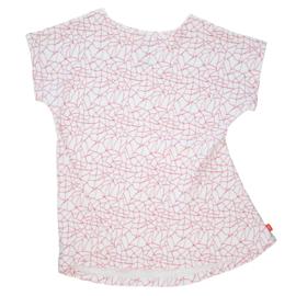 Hi Little - Cracked red white summer dress
