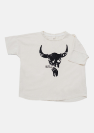 Booso - Wide Bison Tee Ecru