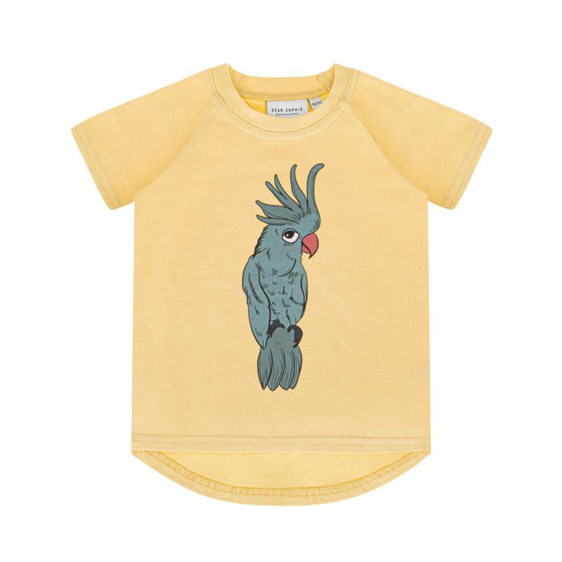 Dear Sophie - Parrot Blue Pale Yellow T-shirt