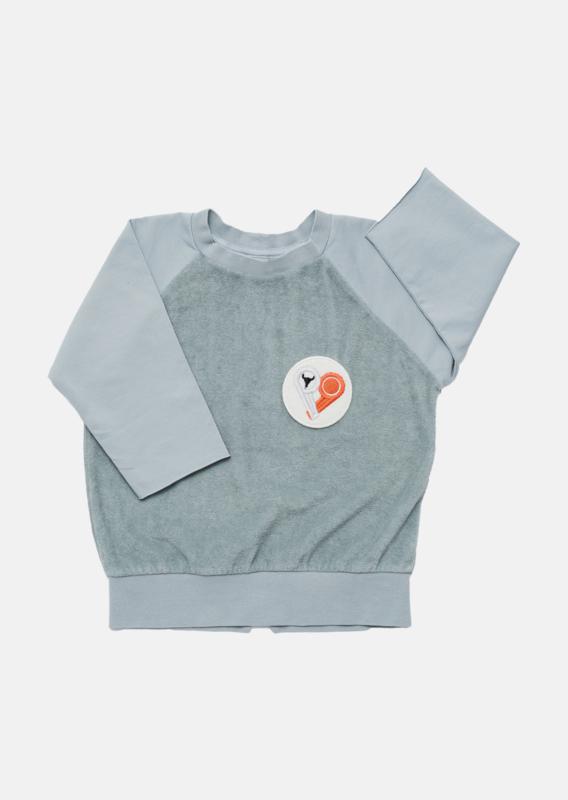 Booso - Double Sweatshirt Sea Blue