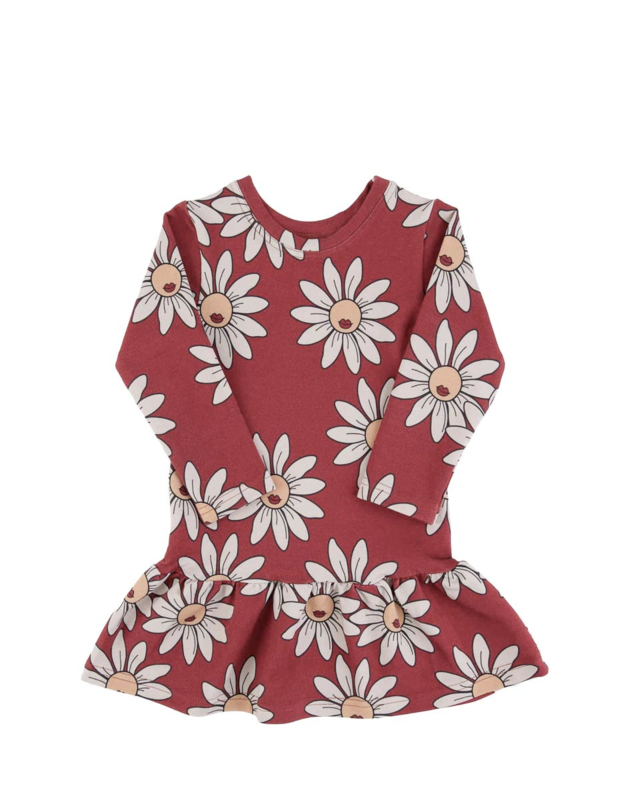 Dear Sophie - Red Daisy Dress