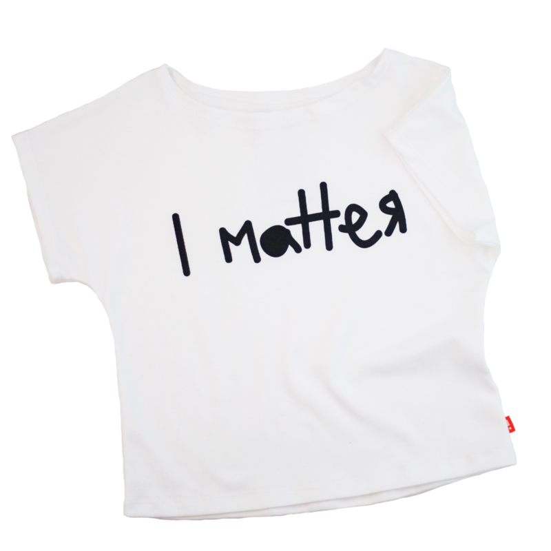 Hi Little - 'I Matter' white tee