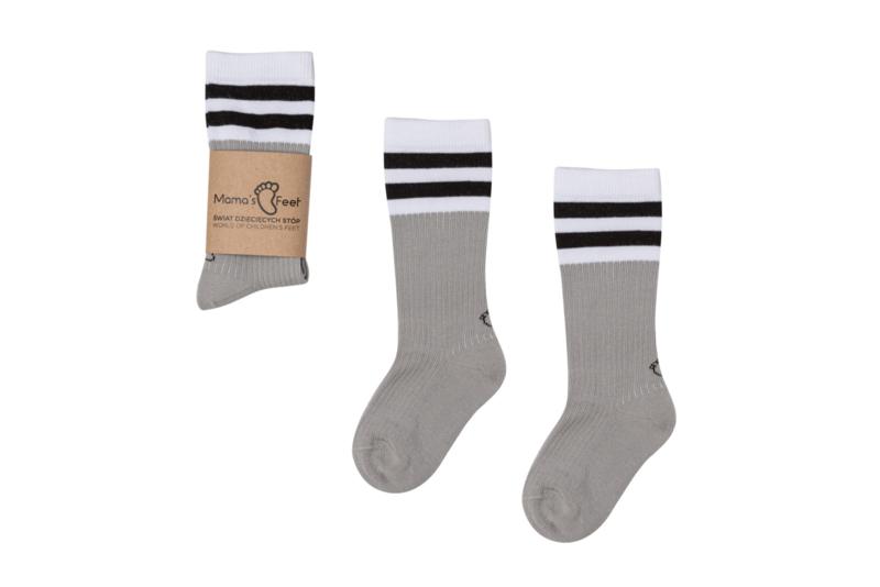 Mama's Feet - Old School - Grey