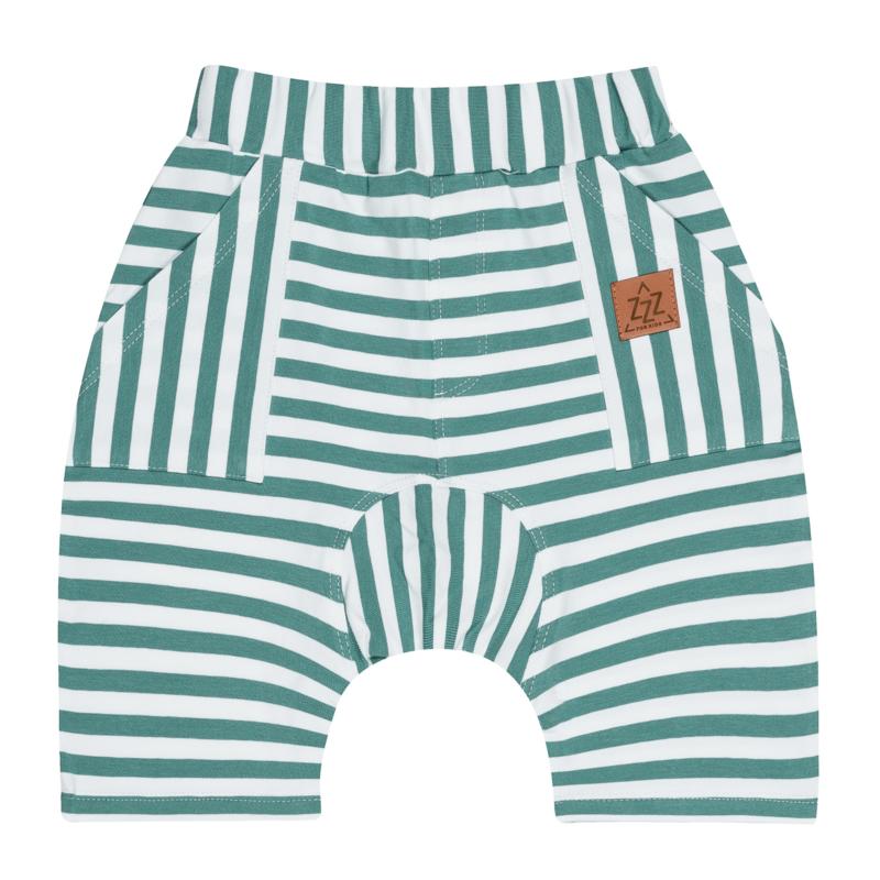 Zezuzulla - Turquoise Strips Short