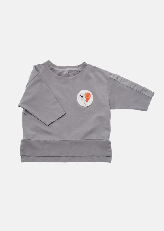 Booso - Voice Sweatshirt Grey