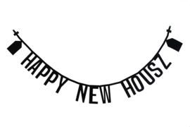 Letterslinger 'Happy New Housz'