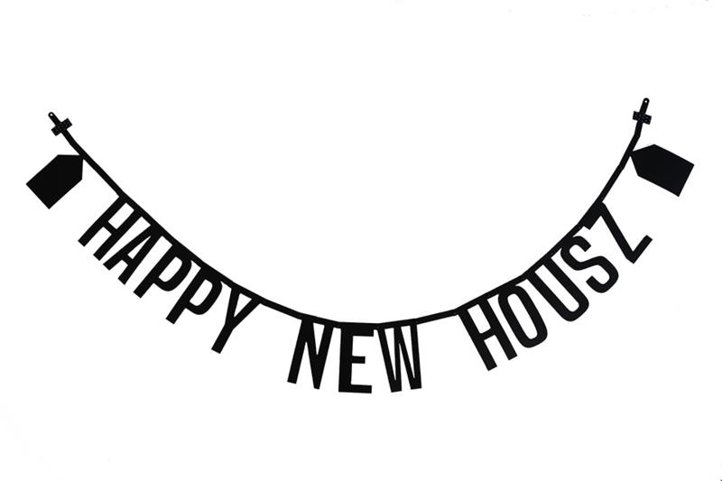 Letterslinger 'Happy New Housz'